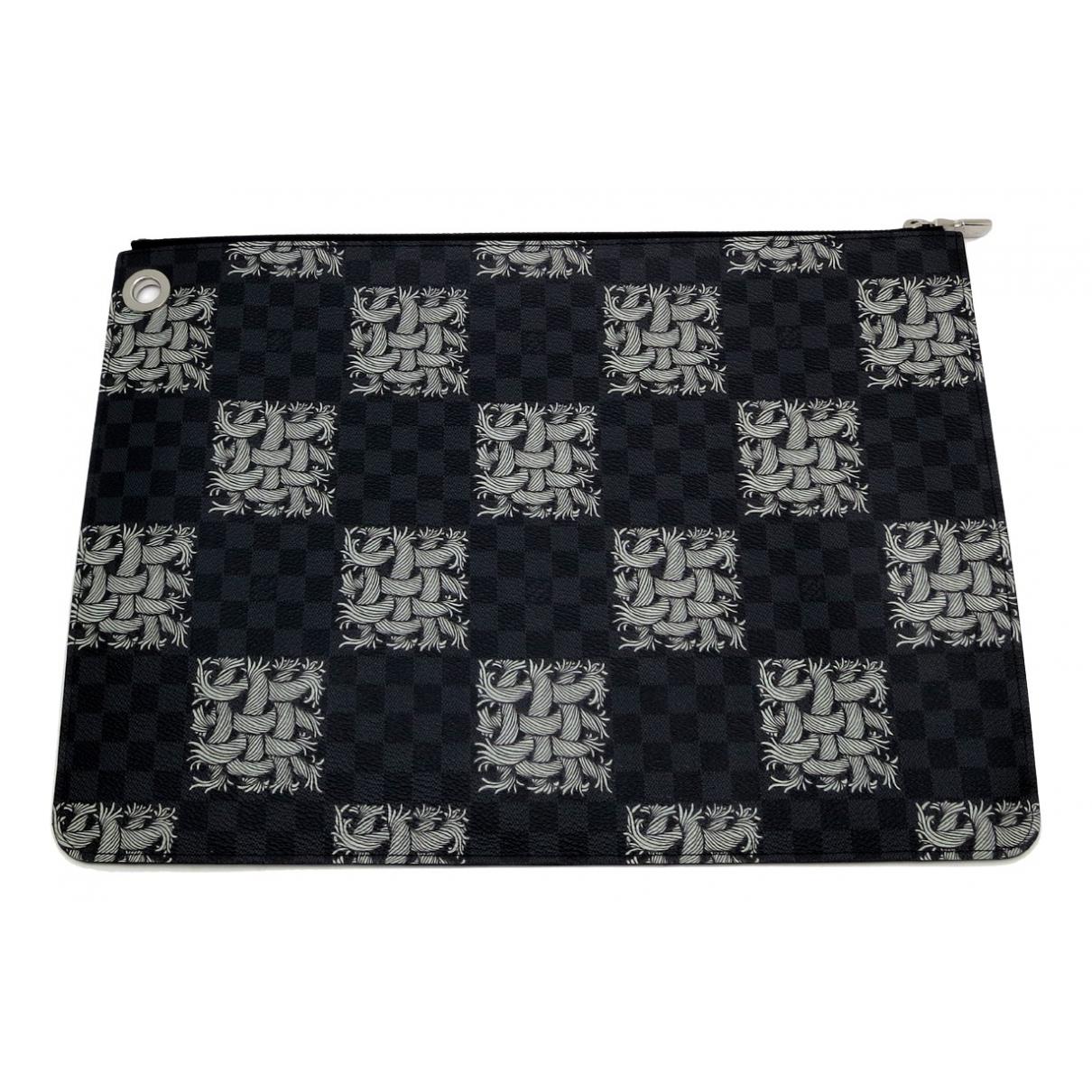 Louis Vuitton N Multicolour Cloth Small bag, wallet & cases for Men N
