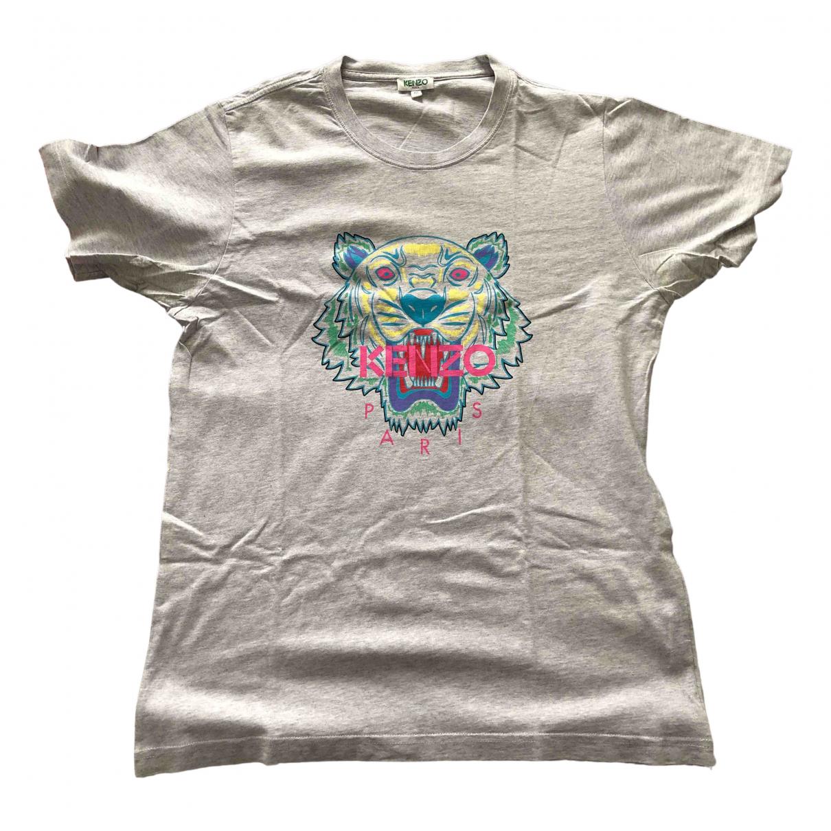 Kenzo N Grey Cotton T-shirts for Men M International