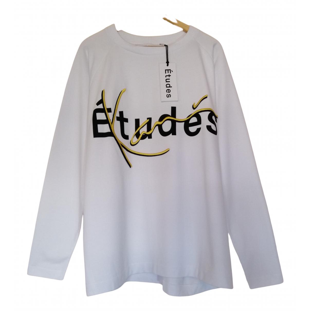 Etudes Studio \N Pullover.Westen.Sweatshirts  in  Weiss Baumwolle