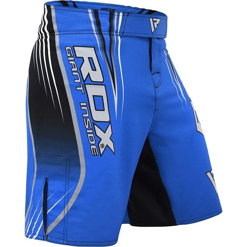 RDX R12 Pantalones Cortos de MMA Poliester Azul 2 Extra Grande