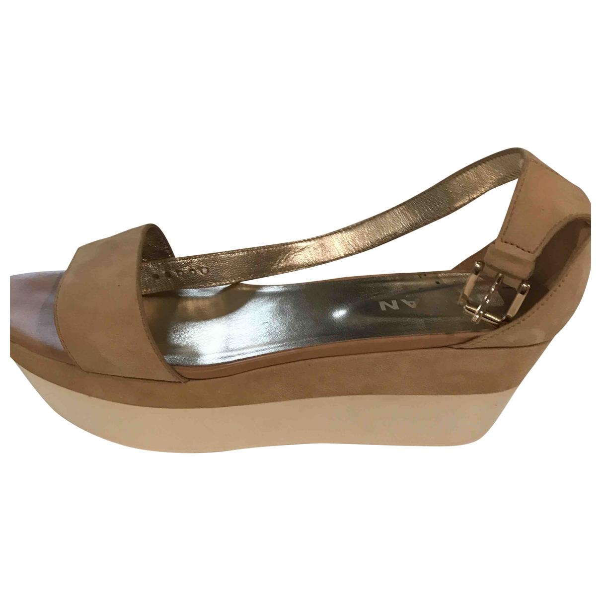 Sandalias romanas de Terciopelo Hogan