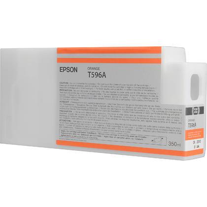 Epson T596A00 350ml Original Orange Ink Cartridge