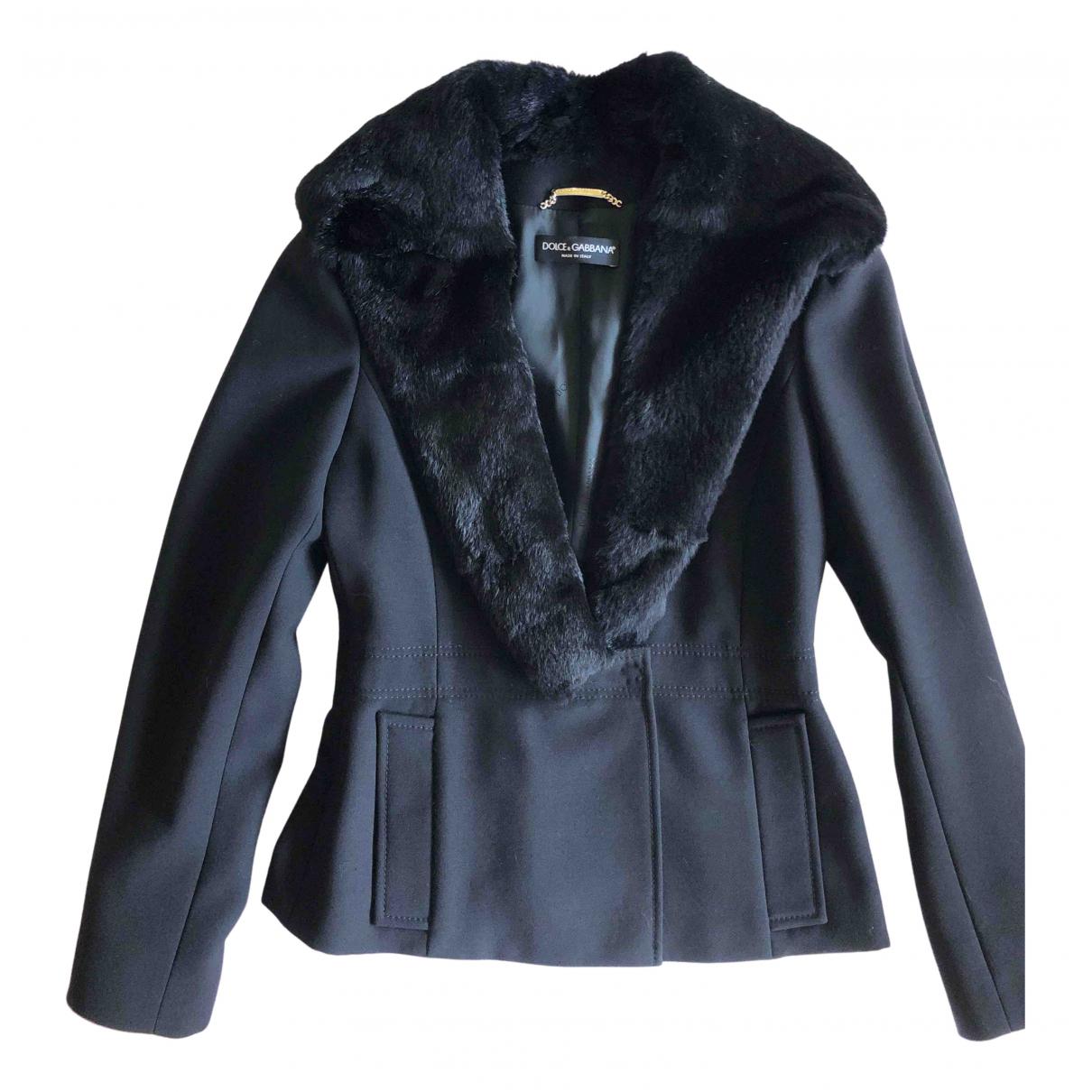Blazer de Lana Dolce & Gabbana