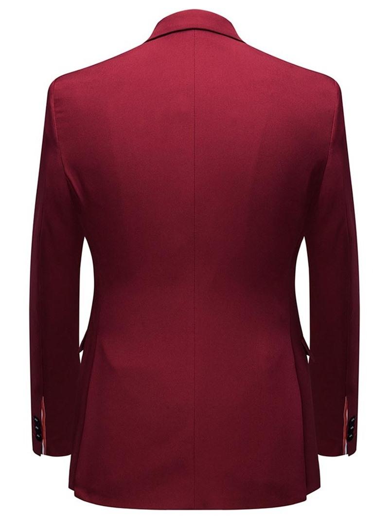 Ericdress Button Pants Formal Men's Dress Suit