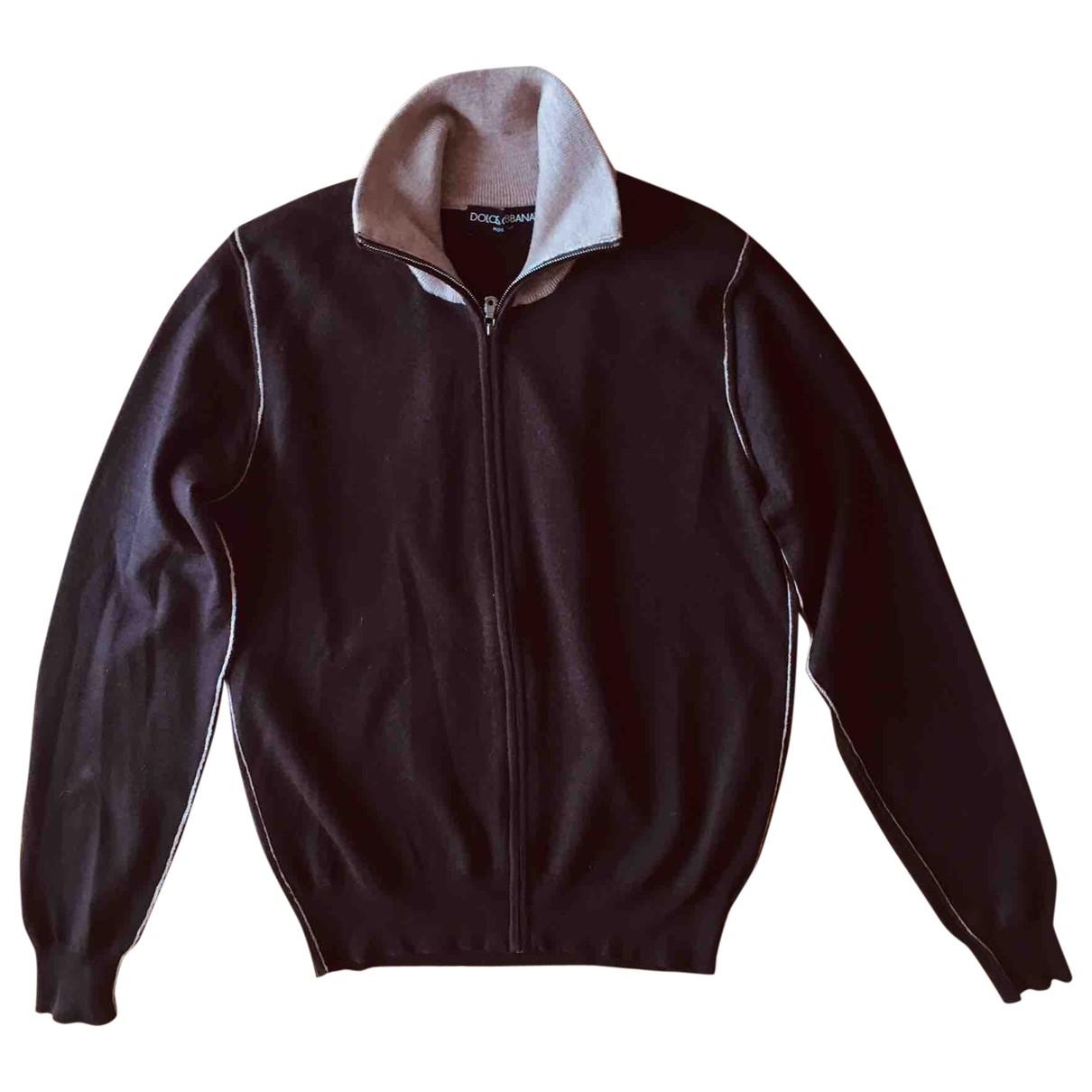 Dolce & Gabbana \N Brown Wool Knitwear & Sweatshirts for Men 46 IT
