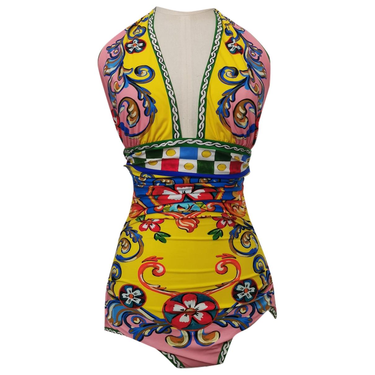 Dolce & Gabbana \N Multicolour Lycra Swimwear for Women 42 IT