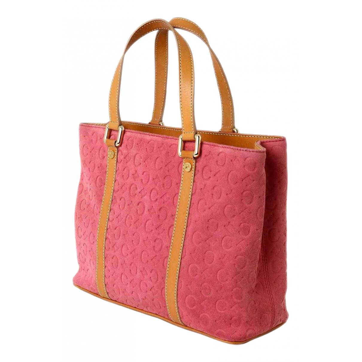 Celine \N Pink Suede handbag for Women \N