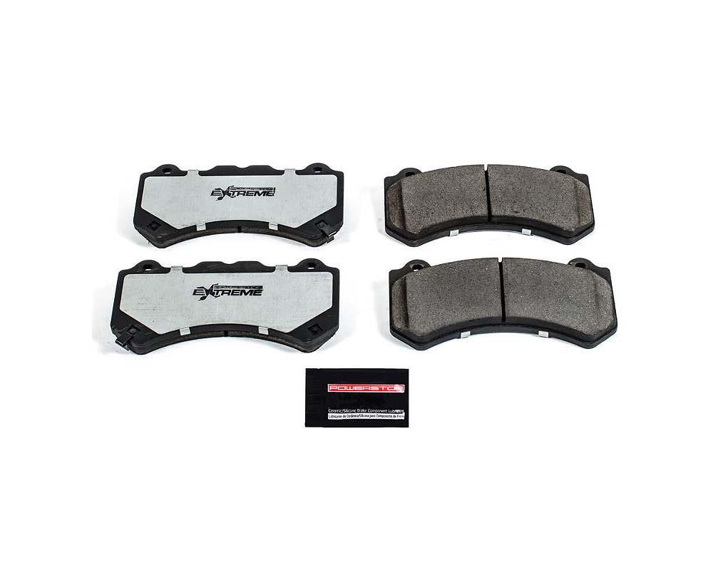 Power Stop Z26-1382 Z26 Extreme Street Brake Pads w/Hardware Front Nissan GT-R 2009-2018