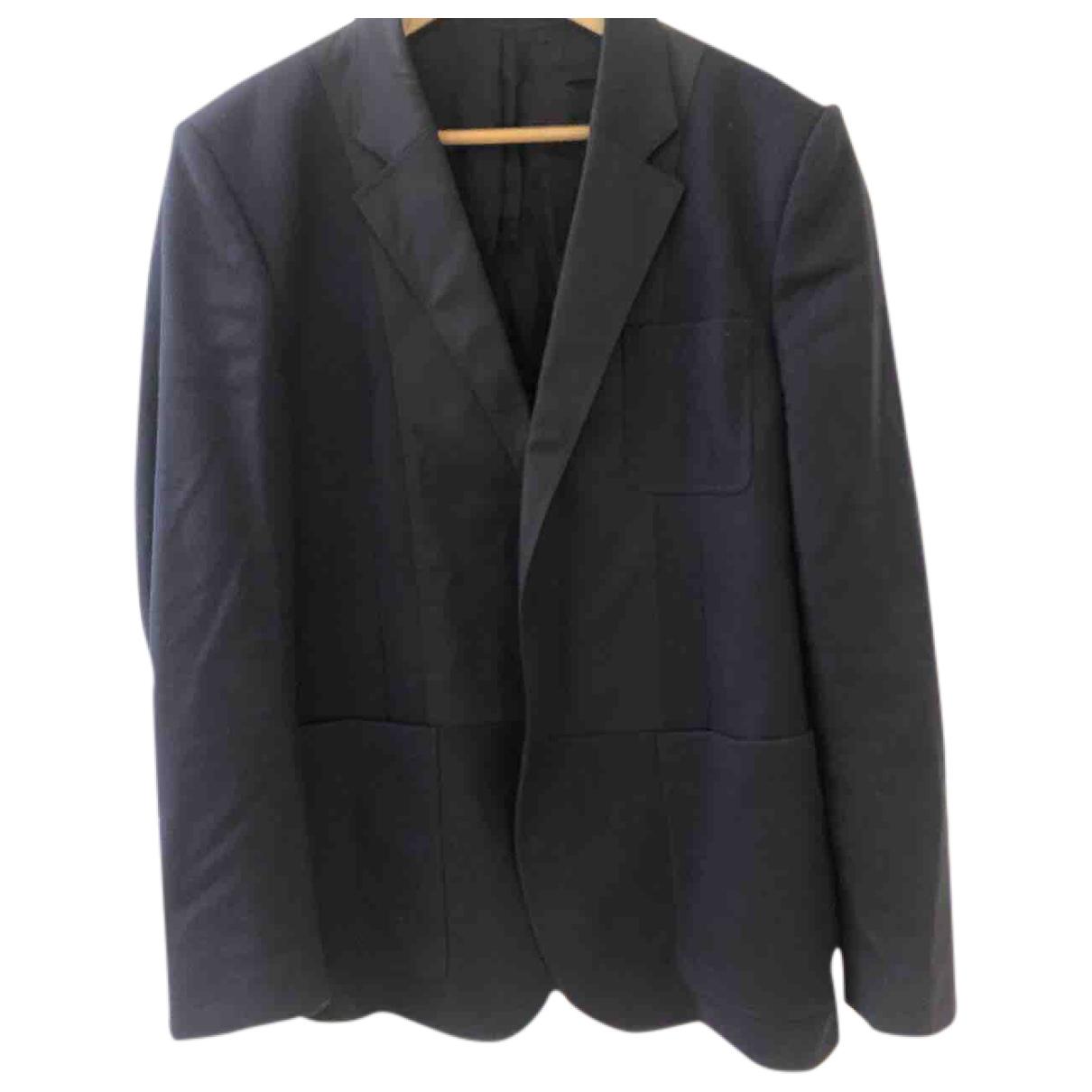 Givenchy \N Jacke in  Blau Wolle
