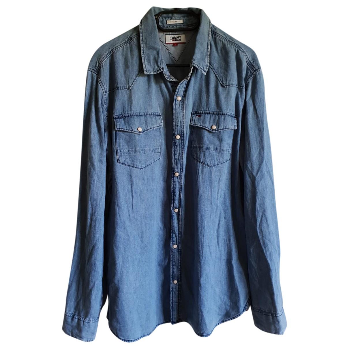 Tommy Jeans \N Blue Denim - Jeans  top for Women 38 FR