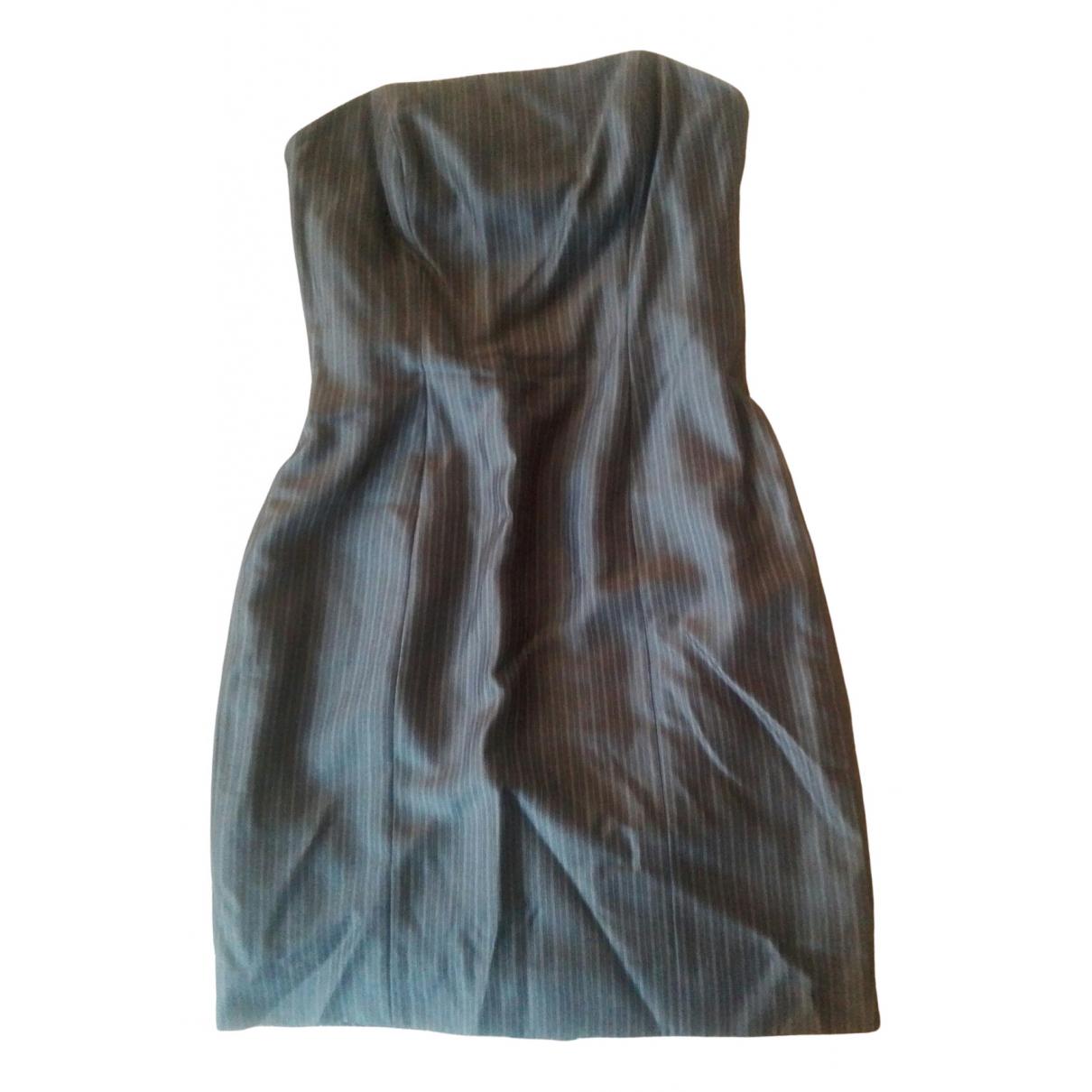 Laurel - Robe   pour femme en soie - gris