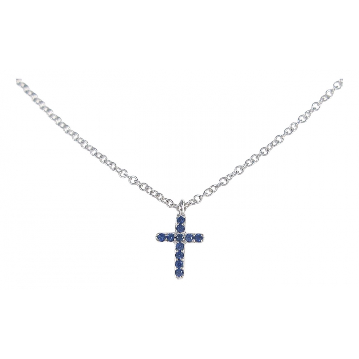 Tiffany & Co \N Silver White gold necklace for Women \N