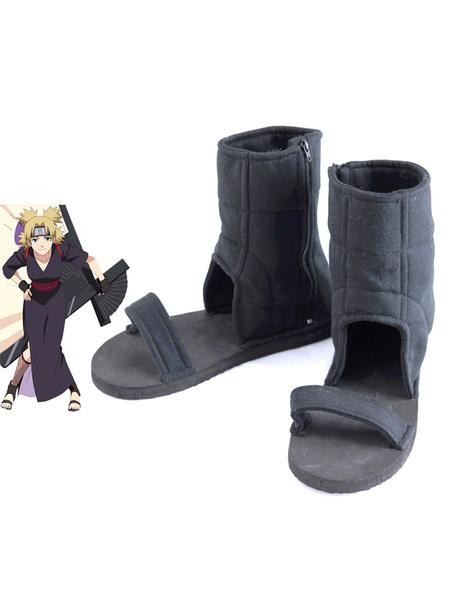 Milanoo Naruto Temari Cosplay Shoes Halloween
