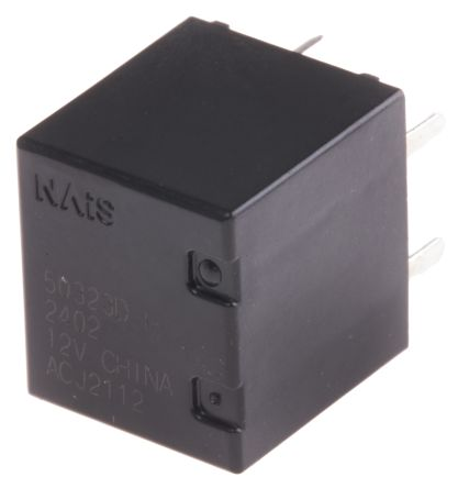 Panasonic , 12V dc Coil Automotive Relay DPDT, 20A Switching Current PCB Mount