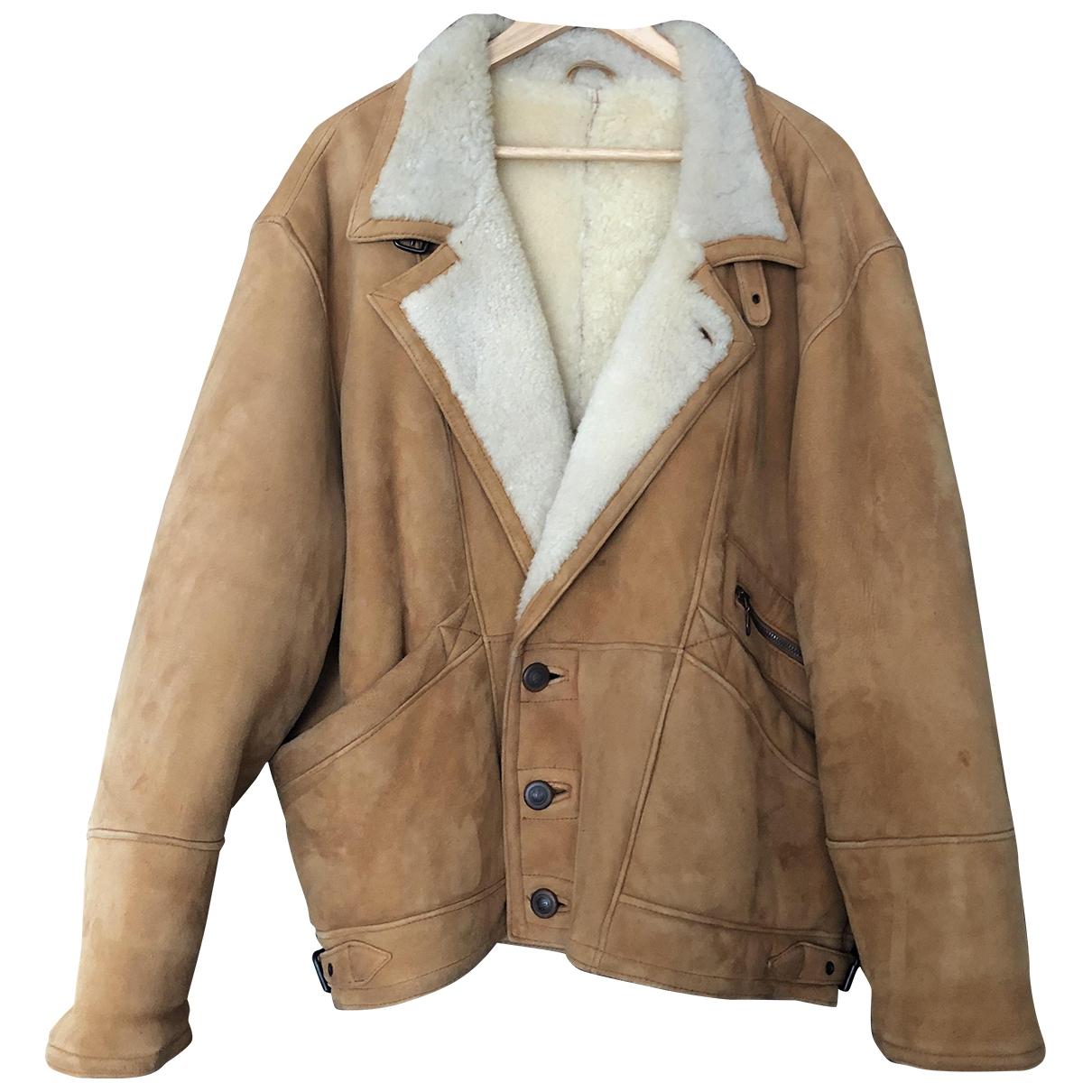 - Manteau Oversize pour femme en mouton - beige