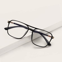 Men Square Frame Glasses