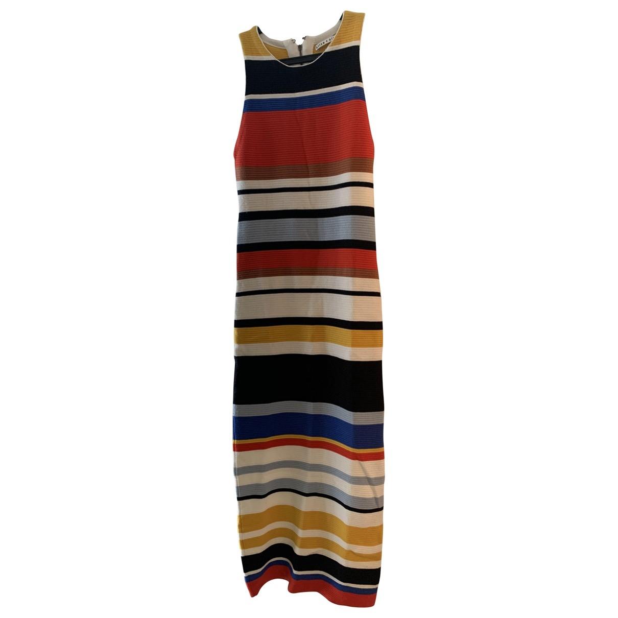 Alice & Olivia \N Multicolour dress for Women M International