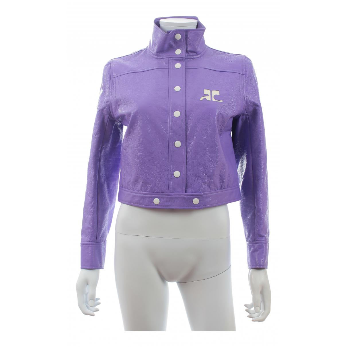 Courreges - Veste   pour femme - violet