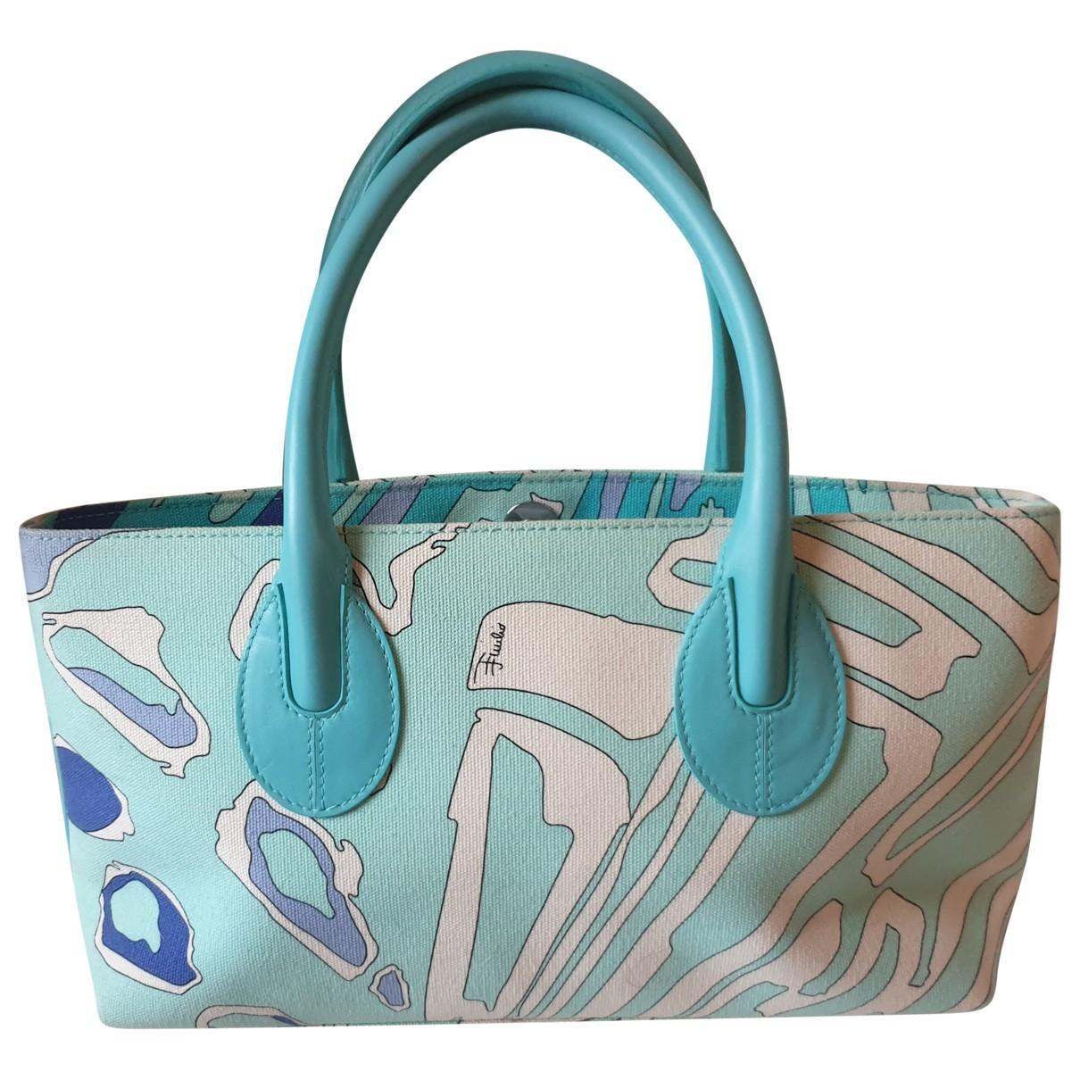 Emilio Pucci N Blue Cloth handbag for Women N