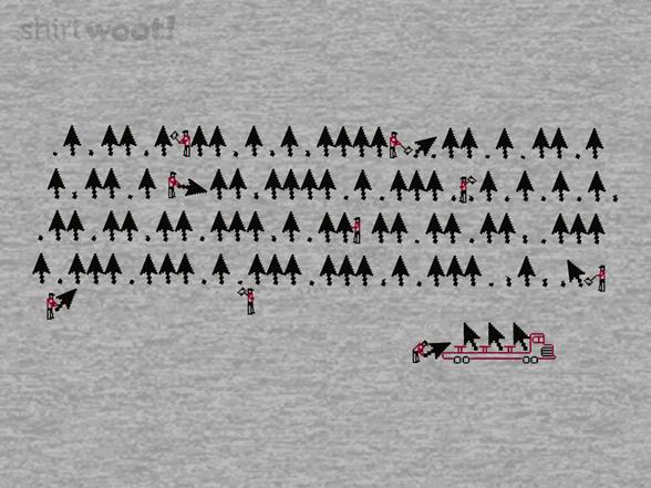 Cursor Forest Remix T Shirt