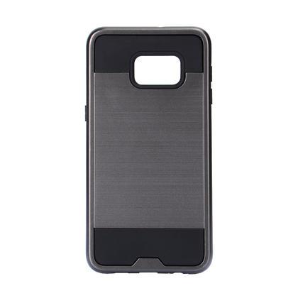 Armor Protective Case for Galaxy S6 Edge Plus/S6 Plus, 5.7 inch - Gray & Black - PrimeCables®
