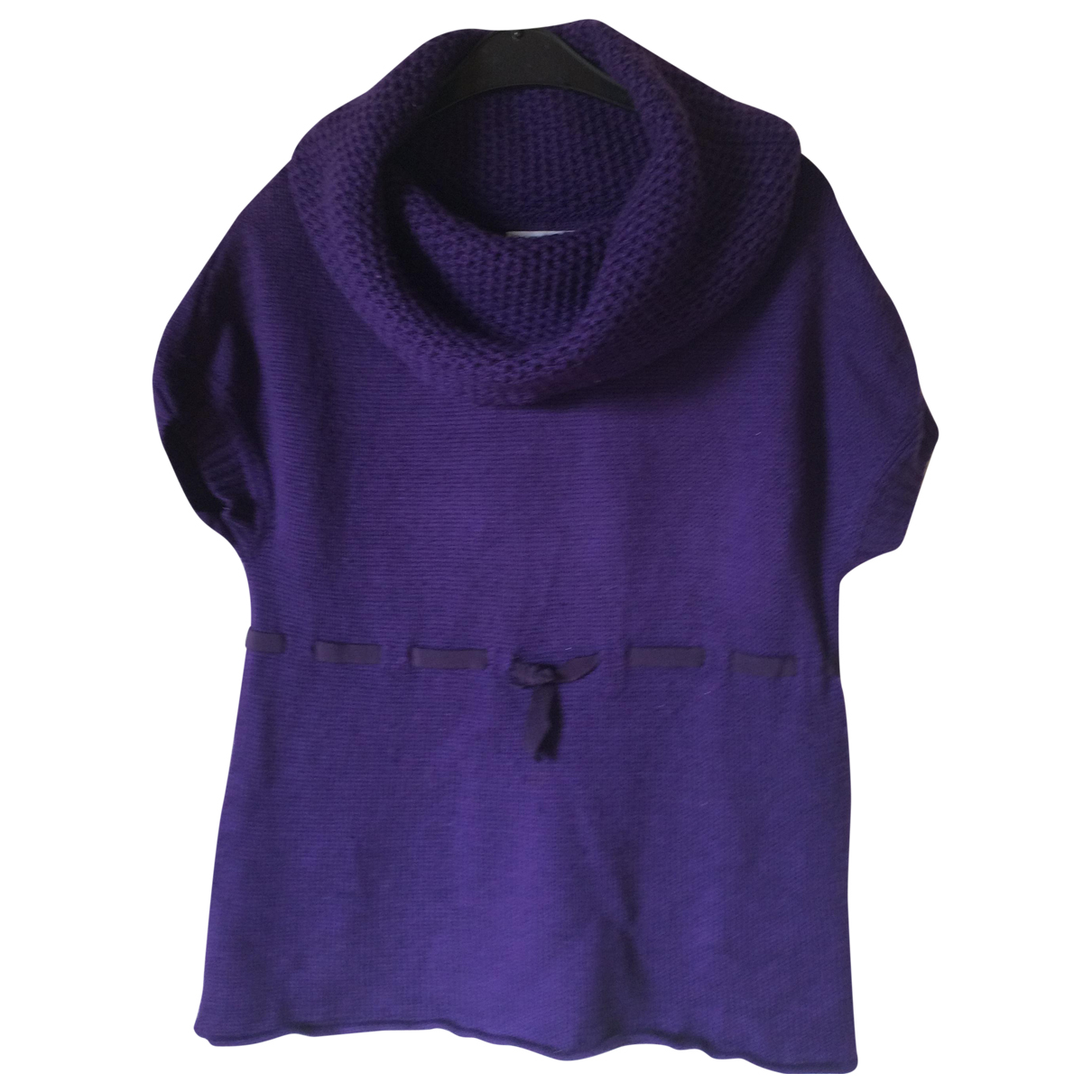 Moschino Cheap And Chic \N Purple Wool Knitwear for Women 40 IT