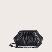 Bolsa con fruncido minimalista