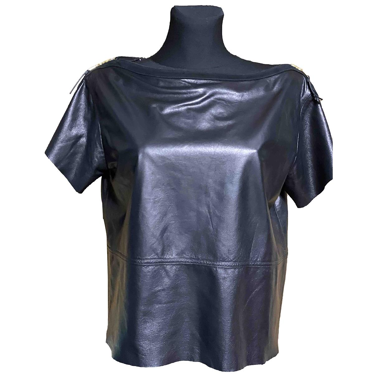 Camiseta de Cuero Louis Vuitton