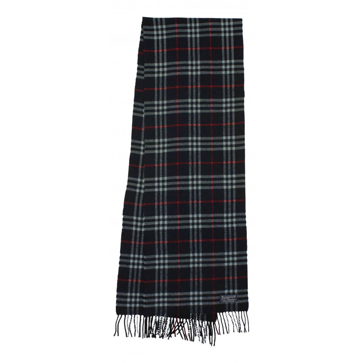 Burberry - Cheches.Echarpes   pour homme en laine - bleu