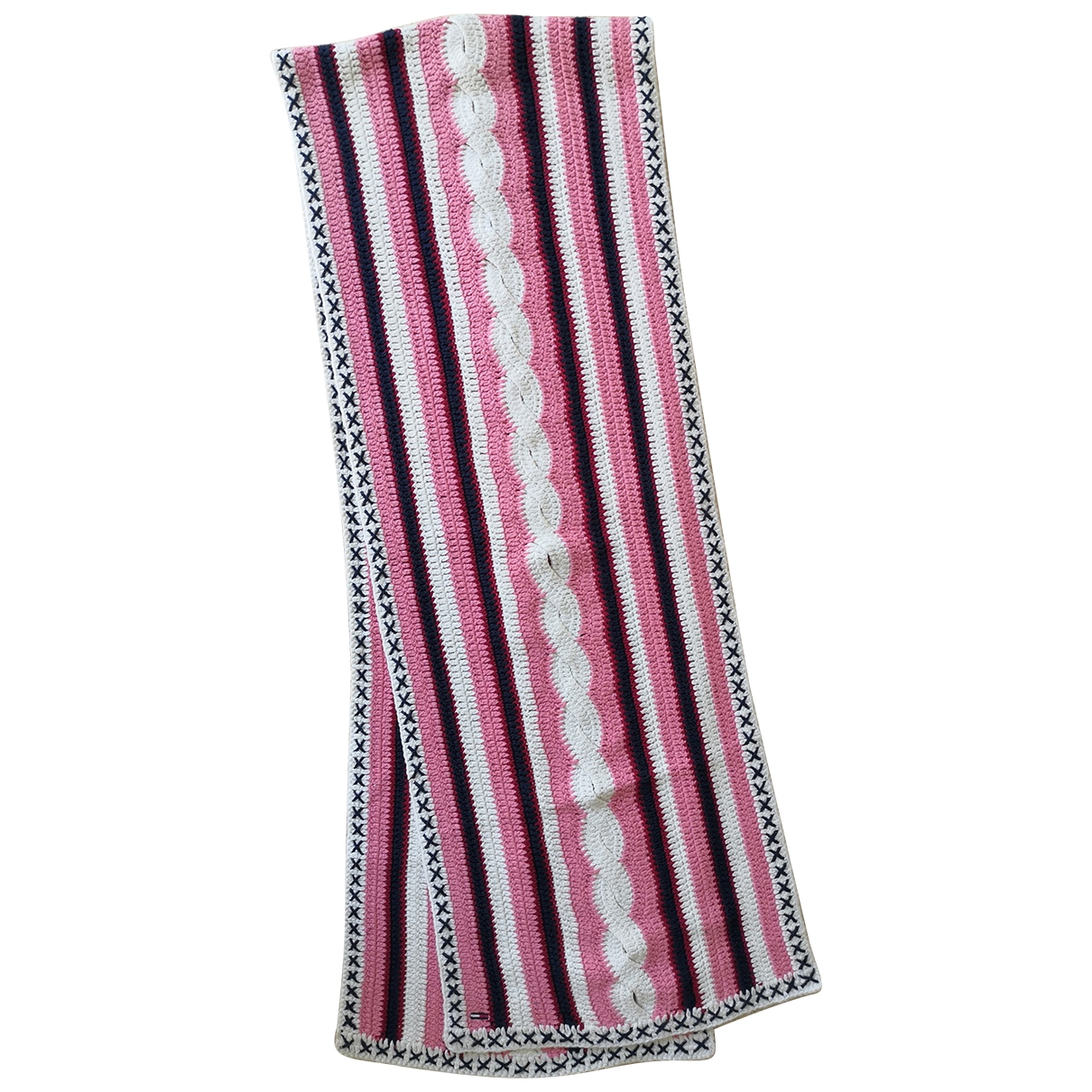 Tommy Hilfiger - Foulard   pour femme en coton - multicolore