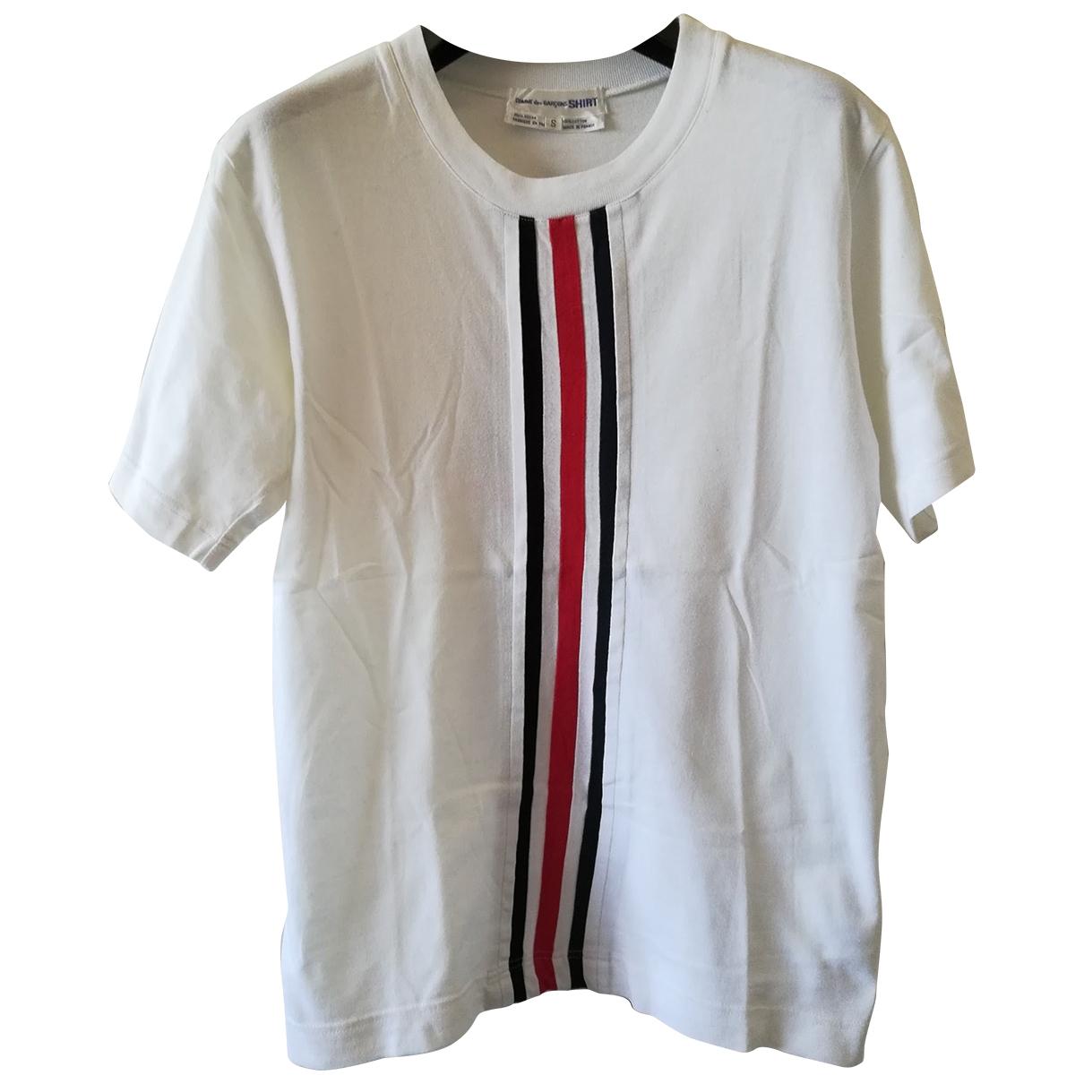 Comme Des Garcons \N White Cotton T-shirts for Men S International