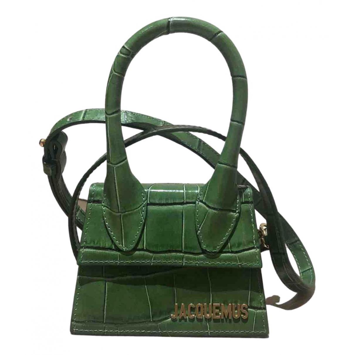 Jacquemus - Sac a main Chiquito pour femme en cuir - vert