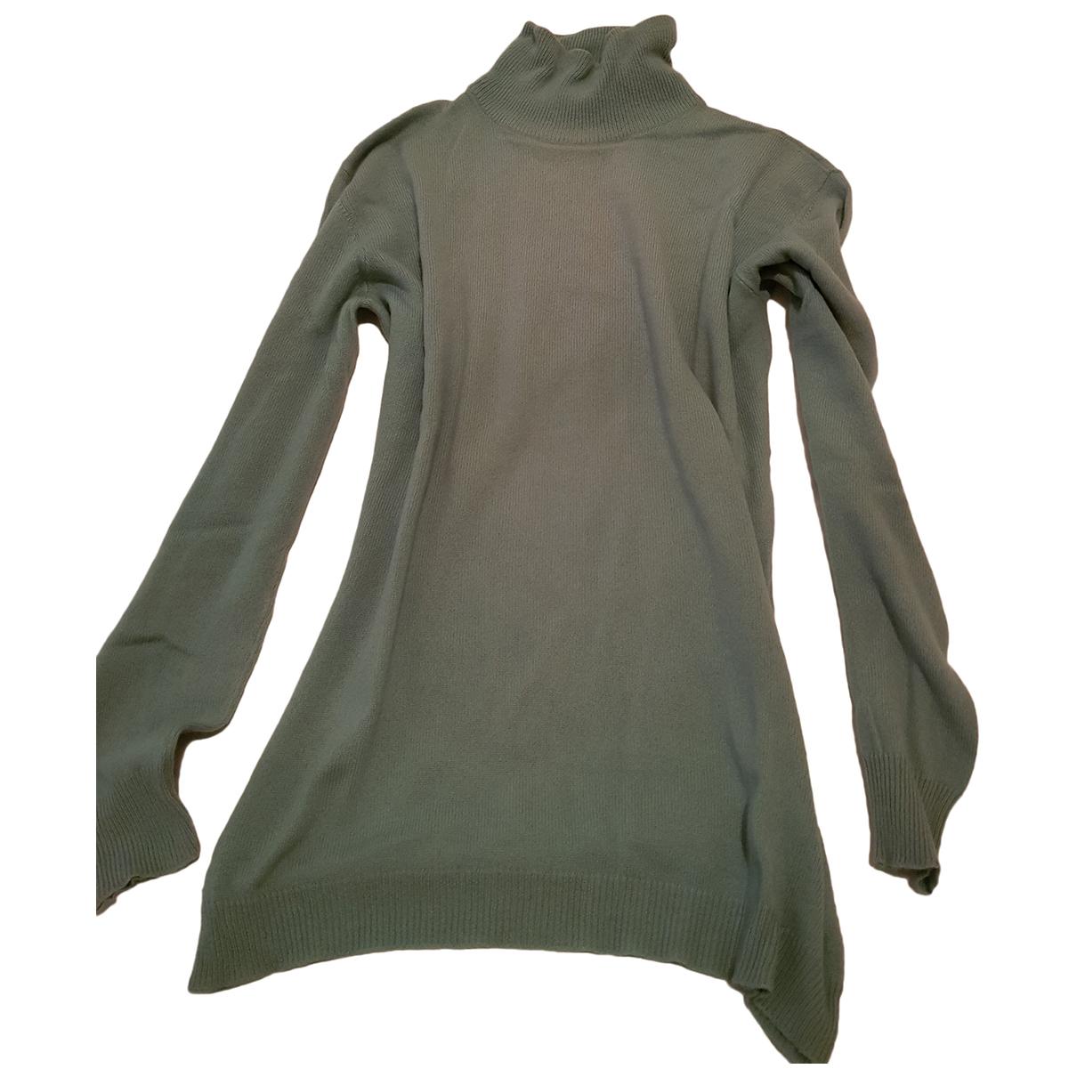 Krizia \N Turquoise Cashmere Knitwear for Women 44 IT