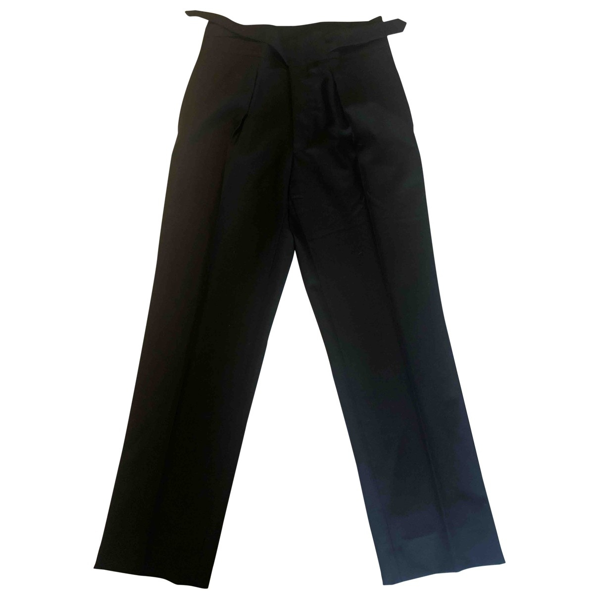 Gucci \N Black Wool Trousers for Men M International