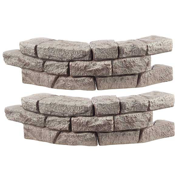 Rock Lock Residential Pack with 2 Curved Sections and 2 Spikes (18