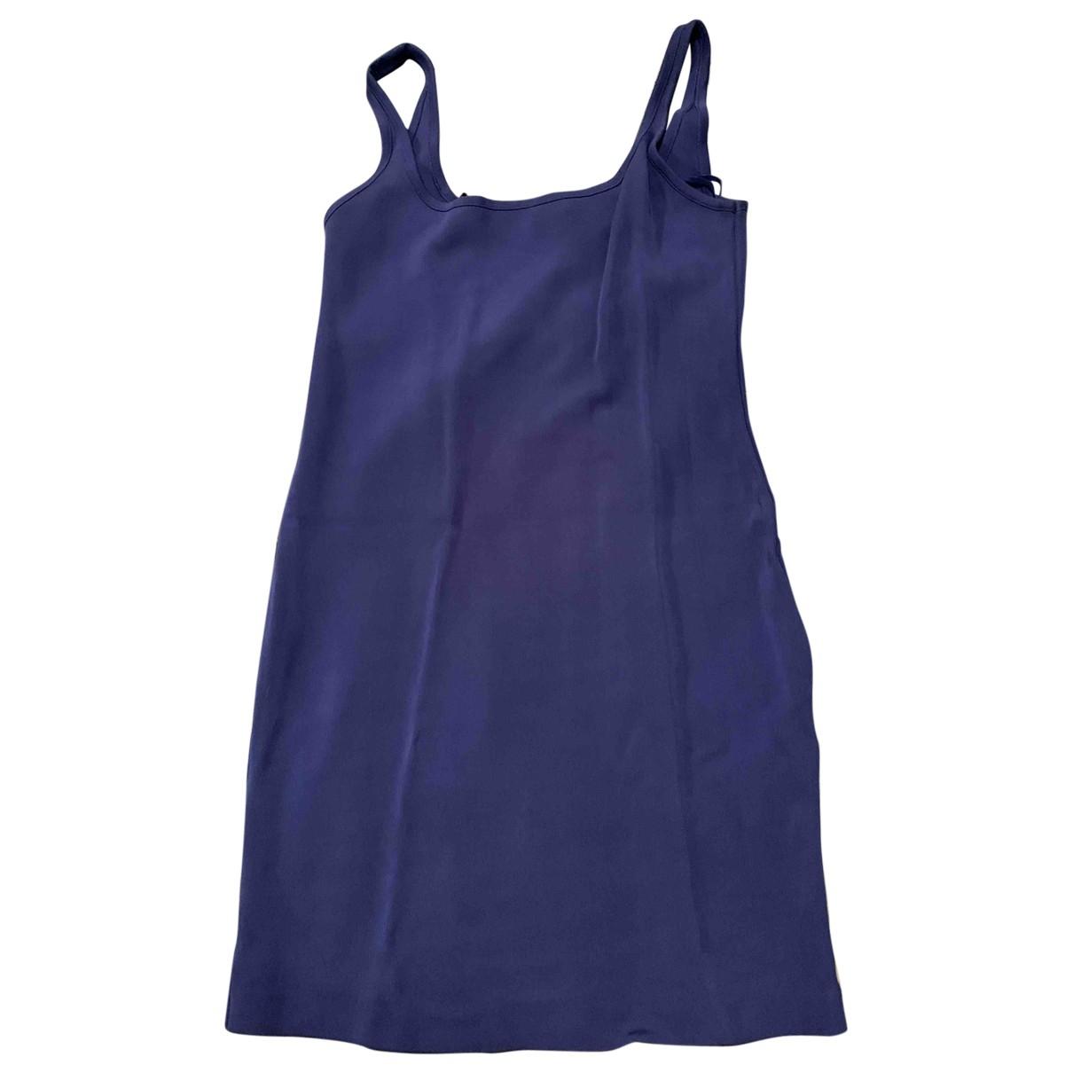 & Other Stories \N Kleid in  Blau Viskose