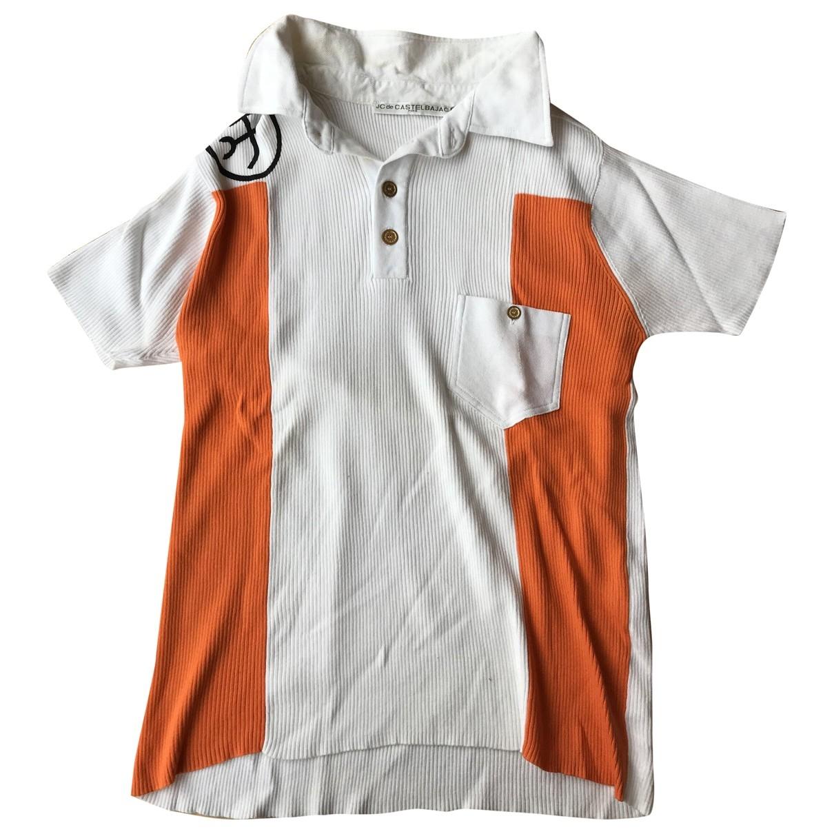 Jc De Castelbajac \N Poloshirts in  Weiss Baumwolle