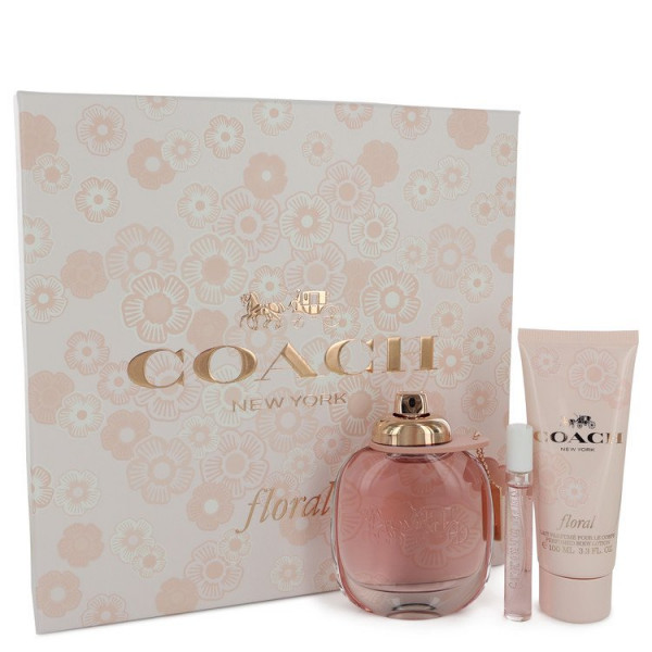 Floral - Coach Estuche regalo 90 ml