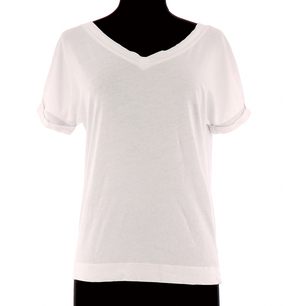Comptoir Des Cotonniers \N White Cotton  top for Women 34 FR