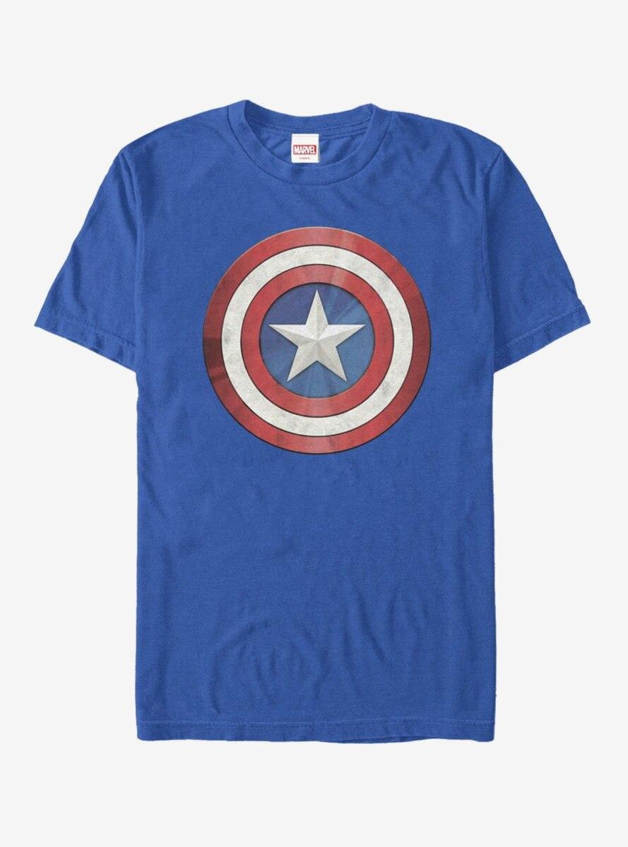 Marvel Captain America Reflect Shield T-Shirt