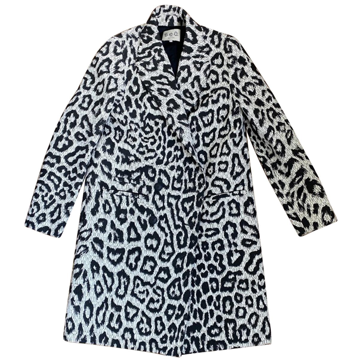 Sea New York - Manteau   pour femme en coton - beige