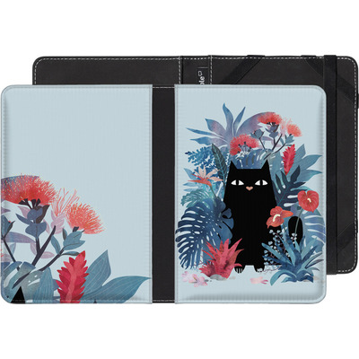 tolino page eBook Reader Huelle - Popoki Blue von Little Clyde