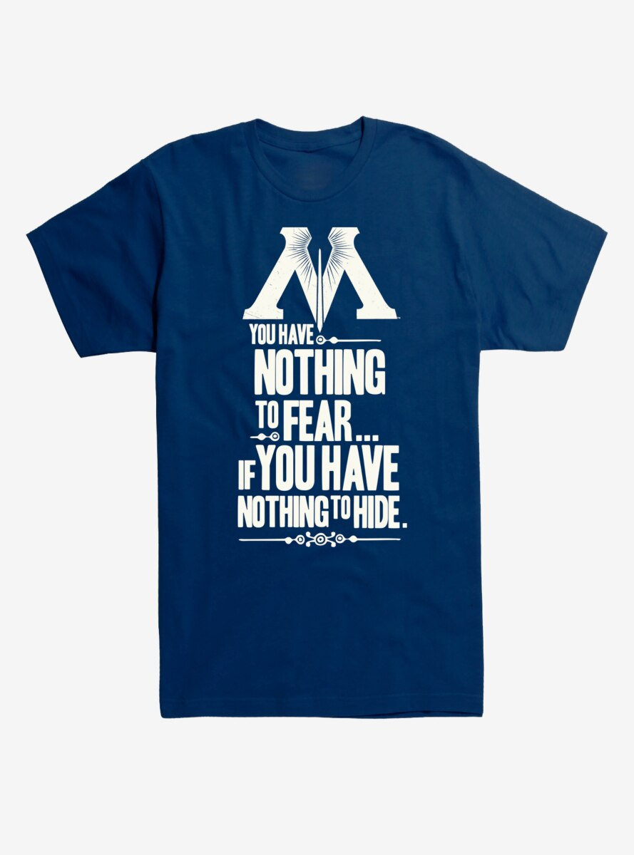 Harry Potter Nothing To Fear T-Shirt