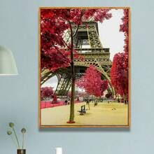 Eiffel Tower Pattern Diamond Painting Without Frame