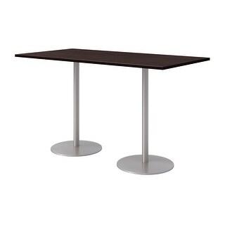 Olio Designs 6' x 3' Bistro Table (Espresso)