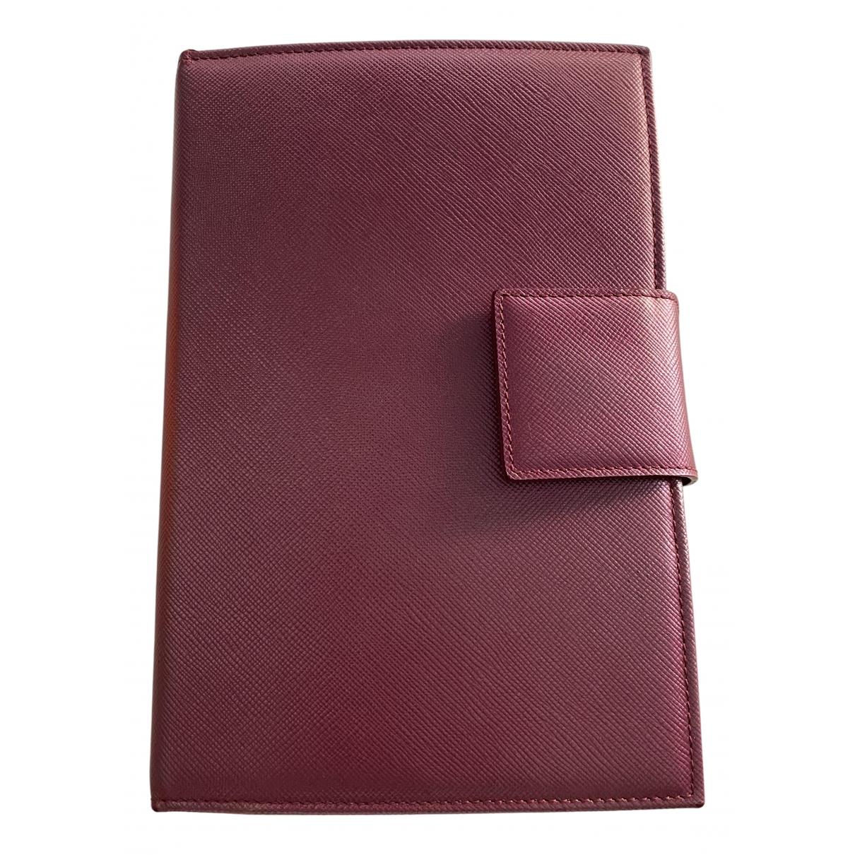 Prada - Objets & Deco   pour lifestyle en cuir - rose