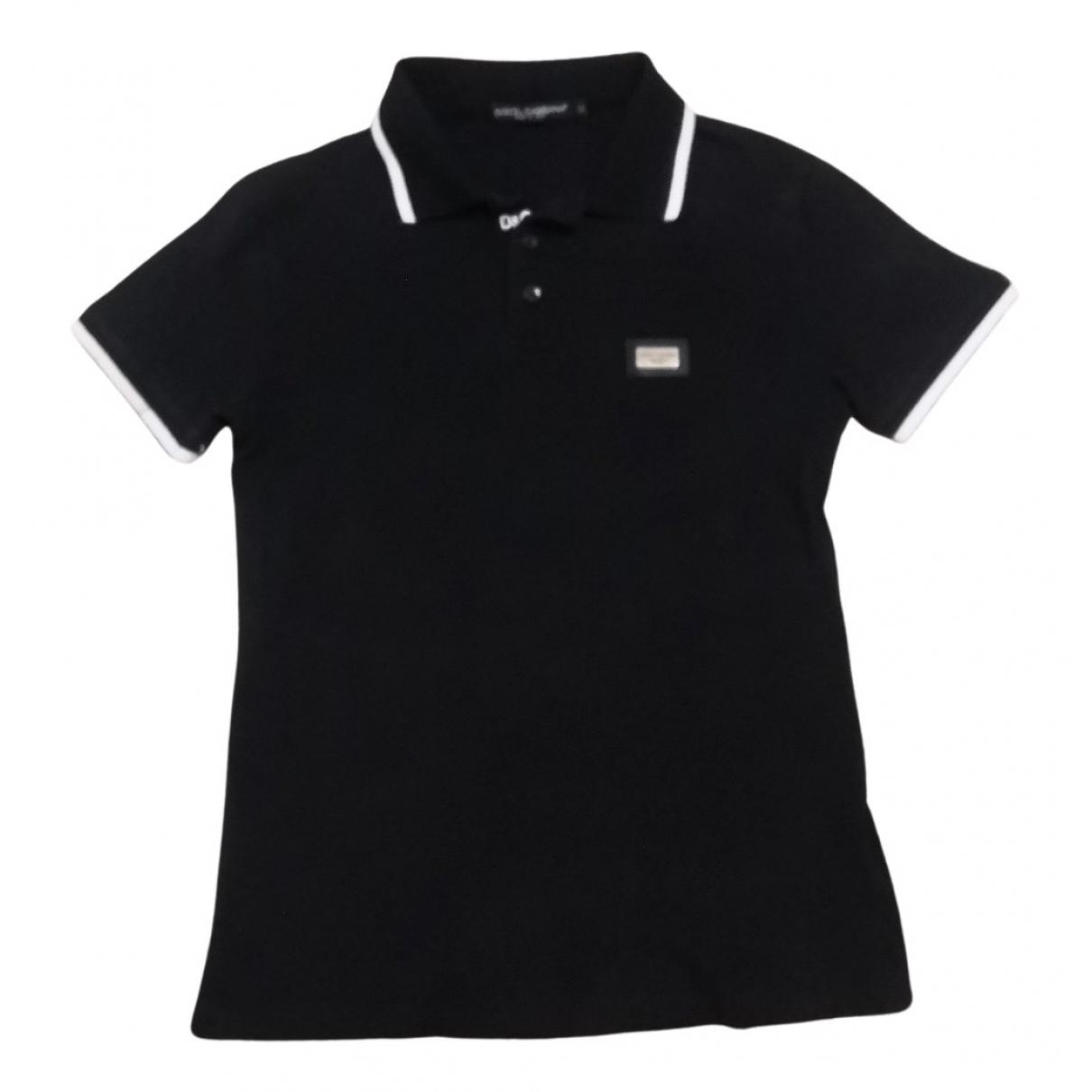 D&g \N Poloshirts in  Schwarz Baumwolle