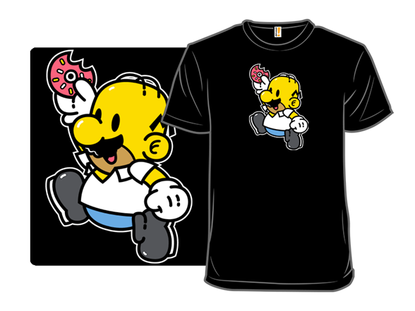 Super Dad Jump T Shirt