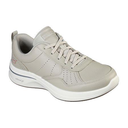 Skechers Go Walk - Steady Womens Walking Shoes, 7 1/2 Medium, Beige