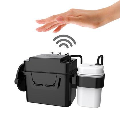 Rince-toilettes automatique à capteur micro-ondes sans contact - LIVINGbasics™